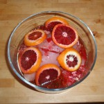 Blood Orange Marinade Doing Its Thing