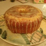 Tangerine Chiffon Cake