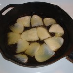 Frying Potatoes for Tortilla Espanola