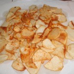 Drain Potatoes on Paper Towel and Sprinkle with Smoked Paprika