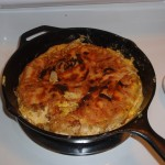 "Tortilla Espanola after ""The Flip"""