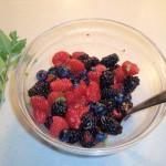 Prepping Fresh Berries