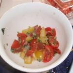 Tomato Mixture Prepped