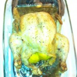 Roasted Chicken with Lemon, Thyme and Garlic