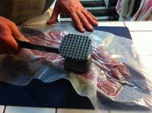 Flatten Pork Tenderloin