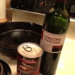 Broth, Wine and Brown Bits for Gravy