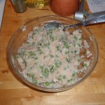 Peas, Potatoes and Seasoning
