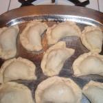 Prepped Samosas Ready For Butter