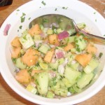 Cucumber-Melon Salsa